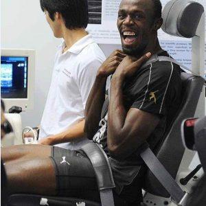 Biodex System 4 en Usain Bolt's hamstring herstel