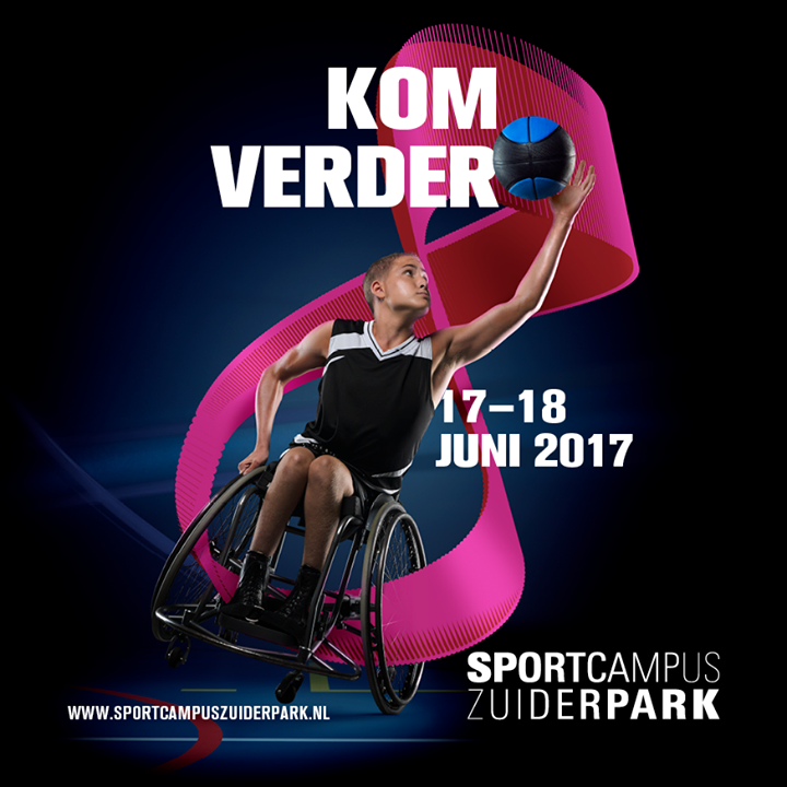 Opening sportcampus Zuiderpark