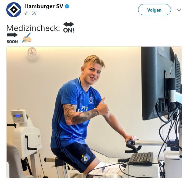 Rick van Drongelen HSV