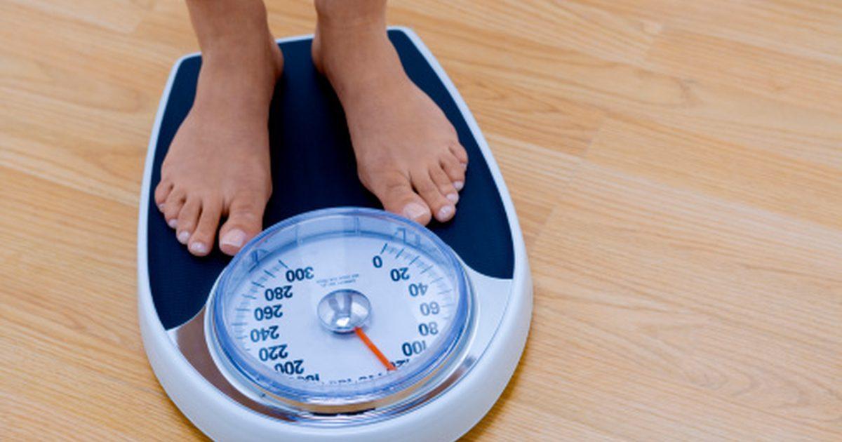BMI meten weegschaal