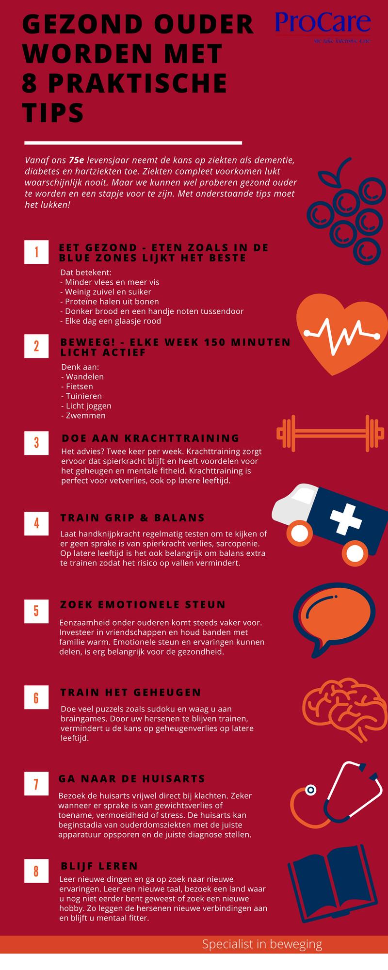 Infographic gezond ouder worden
