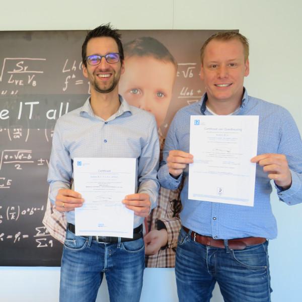 Zusterbedrijf aXtion ontvangt ISO 27001 en NEN 7510