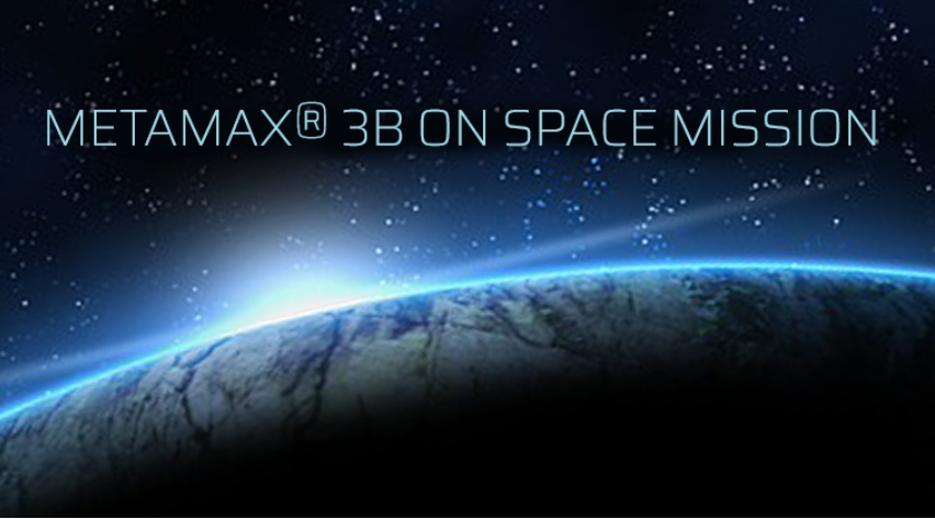Metamax 3B on space mission