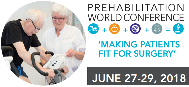 2nd Prehabilitation World Conference | 27-29 juni | Eindhoven