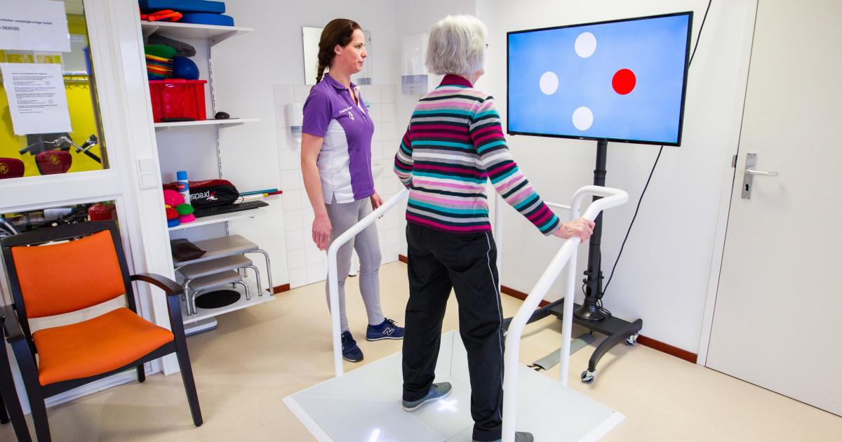 Fysiotherapeuten de Heggerank werken met innovatieve Dividat Senso