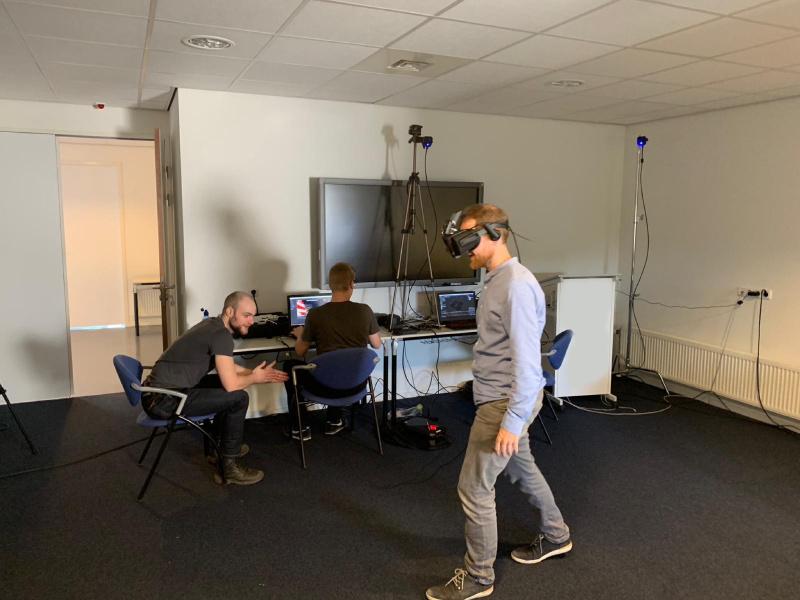 Testen VR systeem Groningen