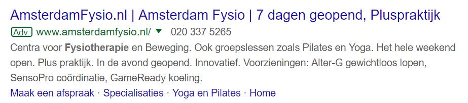 Ad Amsterdam Fysio