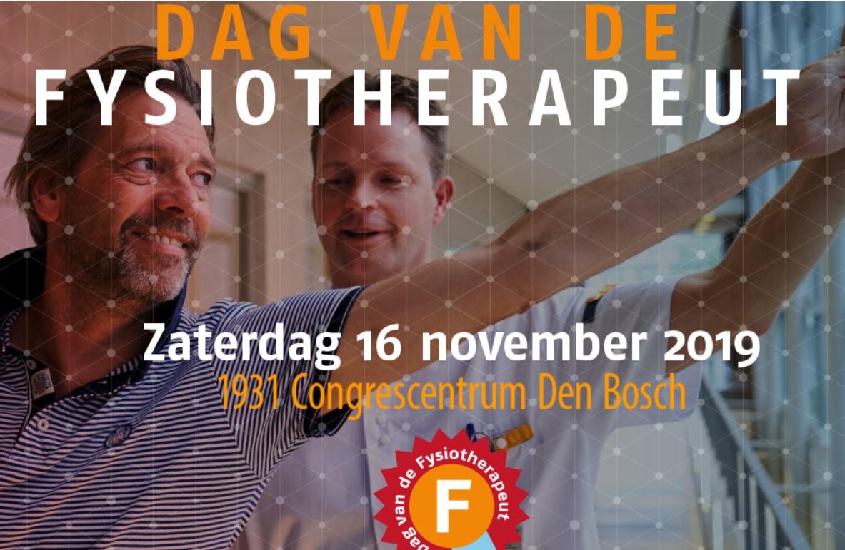Dag van de Fysiotherapeut 2019 | zaterdag 16 november | 's Hertogenbosch