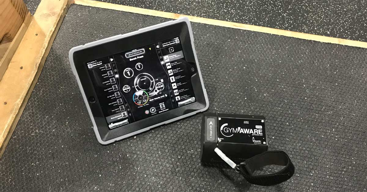 Starten met velocity based training en GymAware